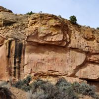 Sego Canyon Petroglyphs & Pictographs