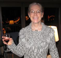 Mom at Christmastime in Coer d'Alene