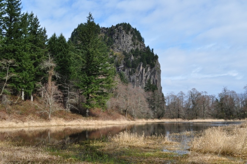 Beacon Rock near Stevenson, Washington