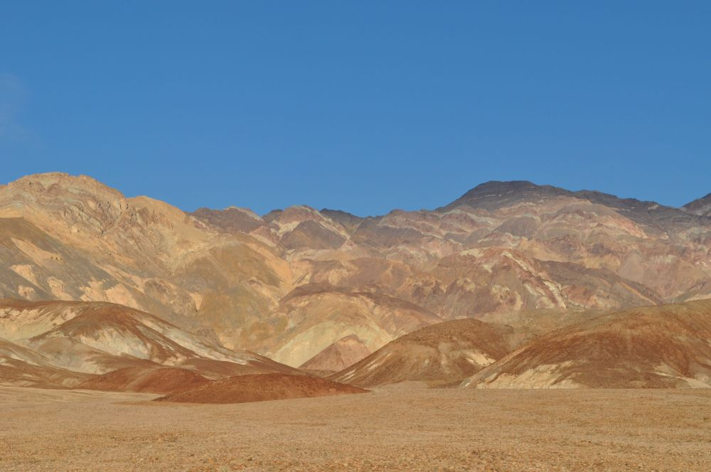 Spectacular colours and shapes and drama embedded into the mountains along the Artist's Drive
