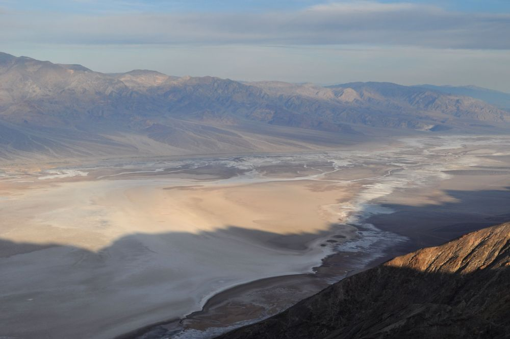 Looking down onto Death Valley from Dante's View