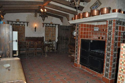 Bessie's fabulous Spanish kitchen