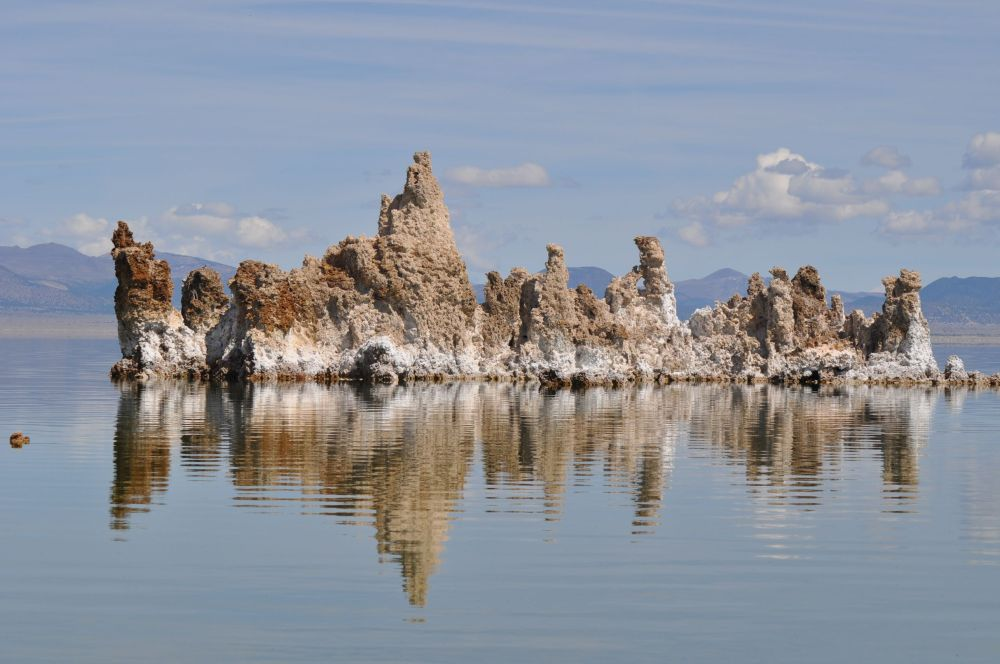 an island of tufa