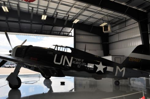 P-47 Thunderbolt at the Warhawk Air Museum in Nampa, Idaho