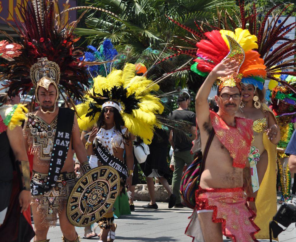 Portland Pride Parade 2013 with Poder Latino Oregon!