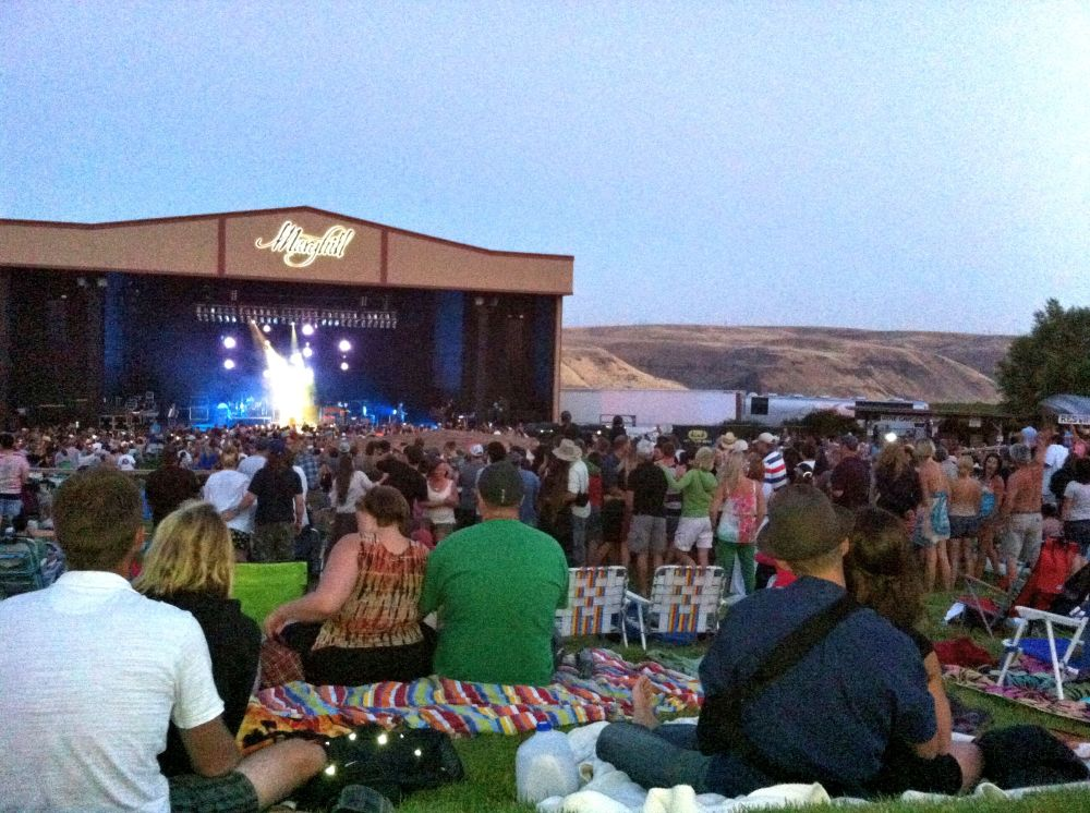 Counting Crows on stage