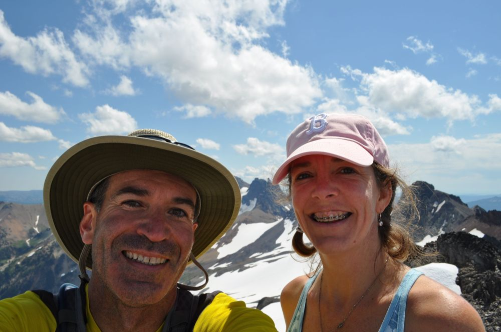 Arno and me in the mountains