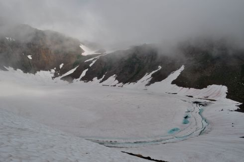This is Goat Lake. I love that fabulous blue of compressed ice!