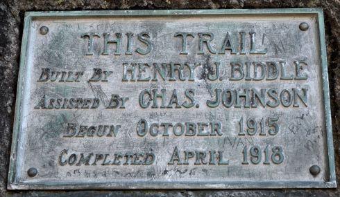 Biddle's trail