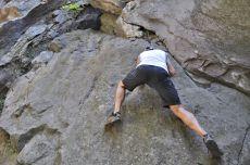 my rock climbing man