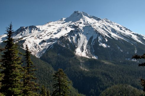 Mt. Jefferson in snow-capped loveliness