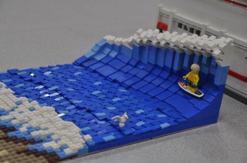 Another fave: surfin' Lego Dude