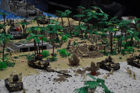 Battle scene.