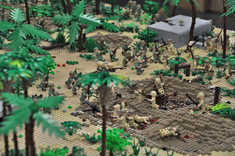 A different battle scene.