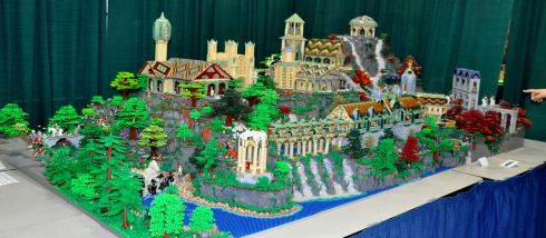 Rivendell in Legos