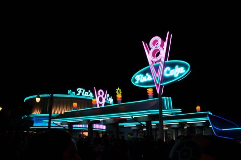 Flo's Cafe welcomed all hungry visitors