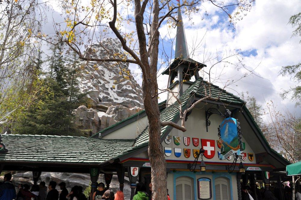 Don't forget the Bavarian ski lodge.