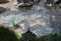 A boat in Pixie Hollow.