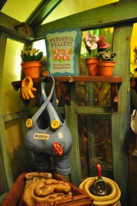 Mickey's garden shed.
