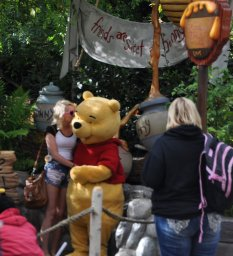 Pooh gets some love.