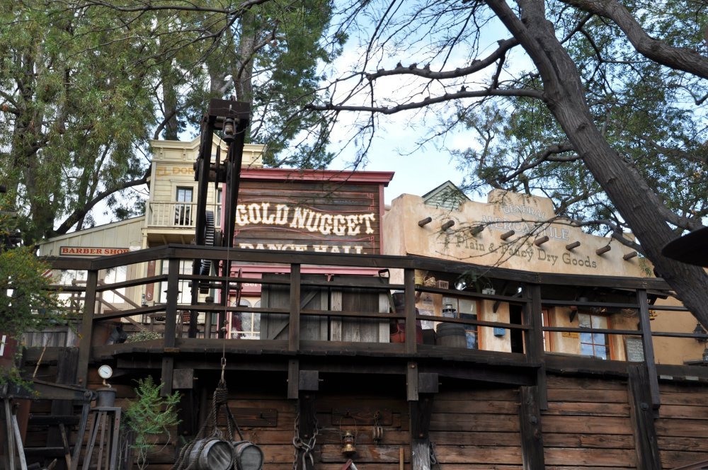 It's in an Old West frontier town.