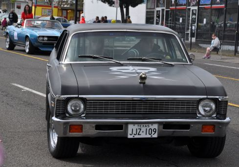 I adore the hot rods! The Nova is my very most favourite muscle car.