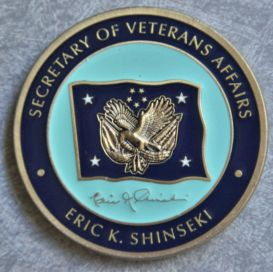 Eric K. Shinseki, Secretary of Veterans Affairs
