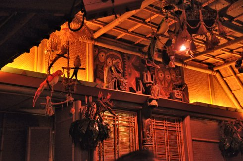 I just loved the Tiki Room. It was completely throwback and such silly fun.