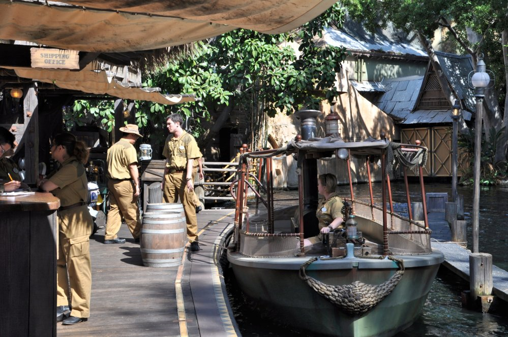 Skippers of the Jungle Cruise