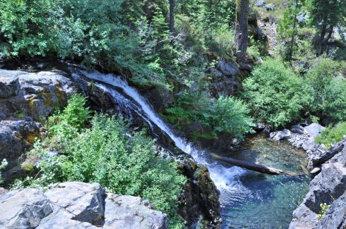 Falls on Grizzly Creek