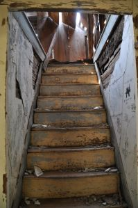 Staircase inside the home