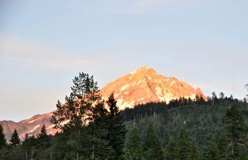 Another Mt. Hood sunset shot.