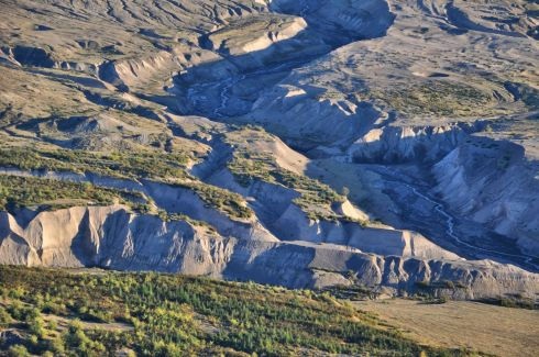 I want to paint this with oils - all that blue shadow. These are the hummocks in the valley below the observatory.