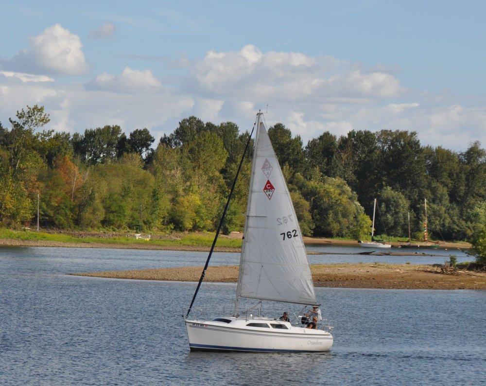 I find sailboats romantic