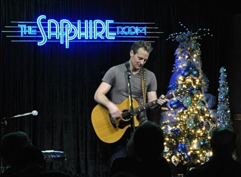 Marcus Eaton at the Sapphire Room at the Boise Riverside Hotel.