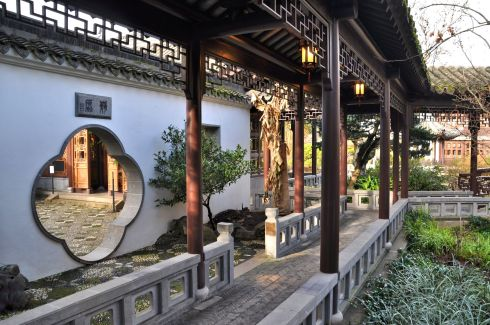 This authentic Chinese garden is so well designed that it is restorative simply to be there.