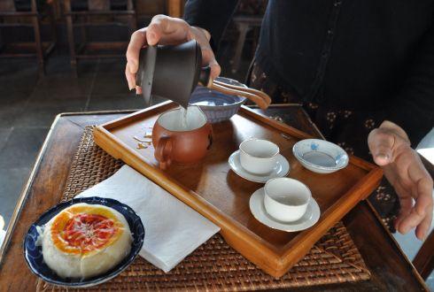 Our tea service.