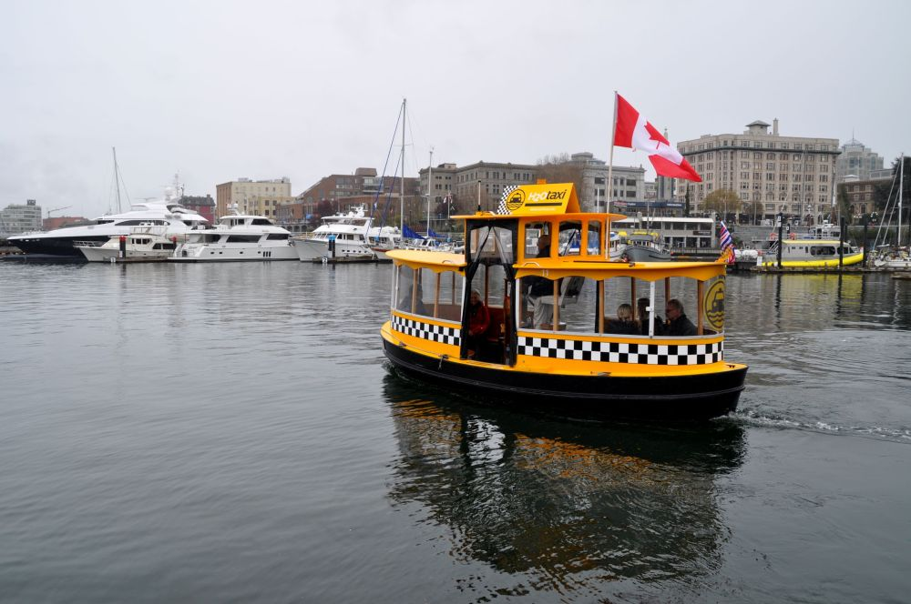 Darling little water taxis.
