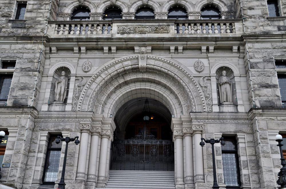 Grand entranceway