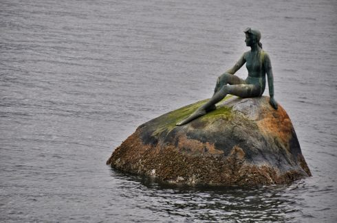 Girl In a Wetsuit, by Elek Imredy, in Stanley Park