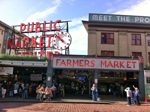 Pike Place Market. A must-see if you visit Seattle.