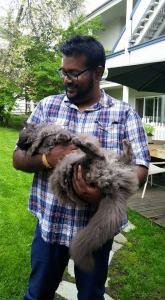 M with Smokey