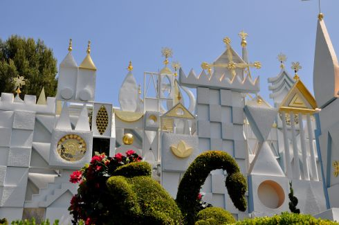 It's A Small World - familiar to anyone who has ever been here.