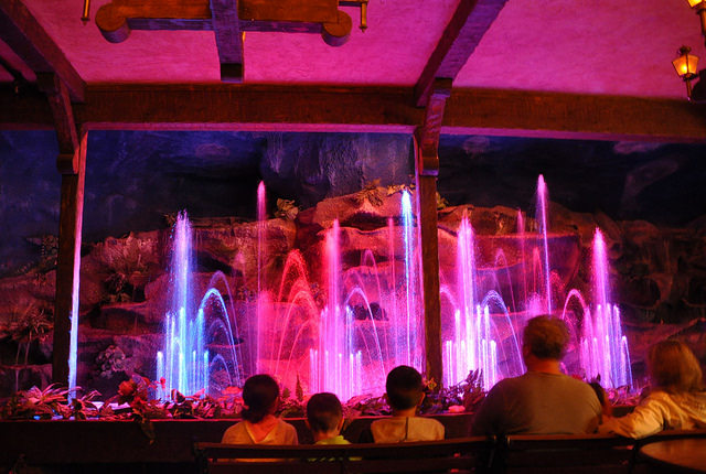 The curious musical water show.
