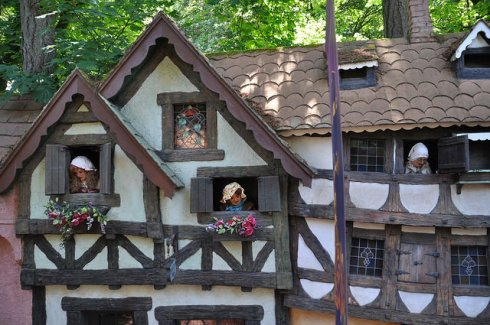 Gossips in Pinocchio's Village