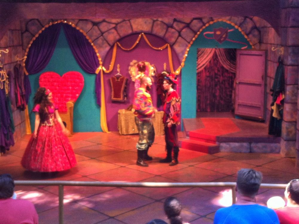 A new stage was built in a different location, and the plays include song and dance, and are packed with gags.