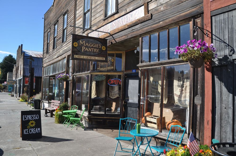 Maggie's Pantry, named after one of the main characters in the TV show Northern Exposure.