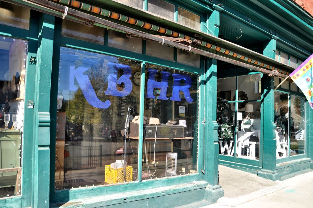 KBHR (pronounced Kay Bear) studios is not only evident from the outside...