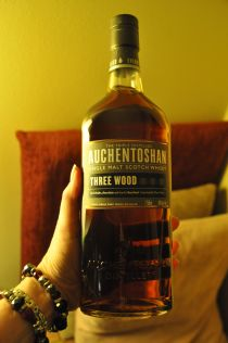 Auchentoshan pours out like syrup
