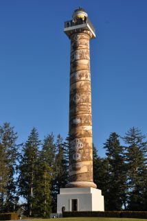 The eye-catching Astoria Column.